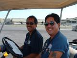 Aloha from Carlton & Kerry - HNL Line Mechanics
