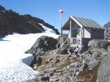 chilkoot trail at the pass and canadian border