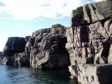 Reiff sea cliffs north west scotland