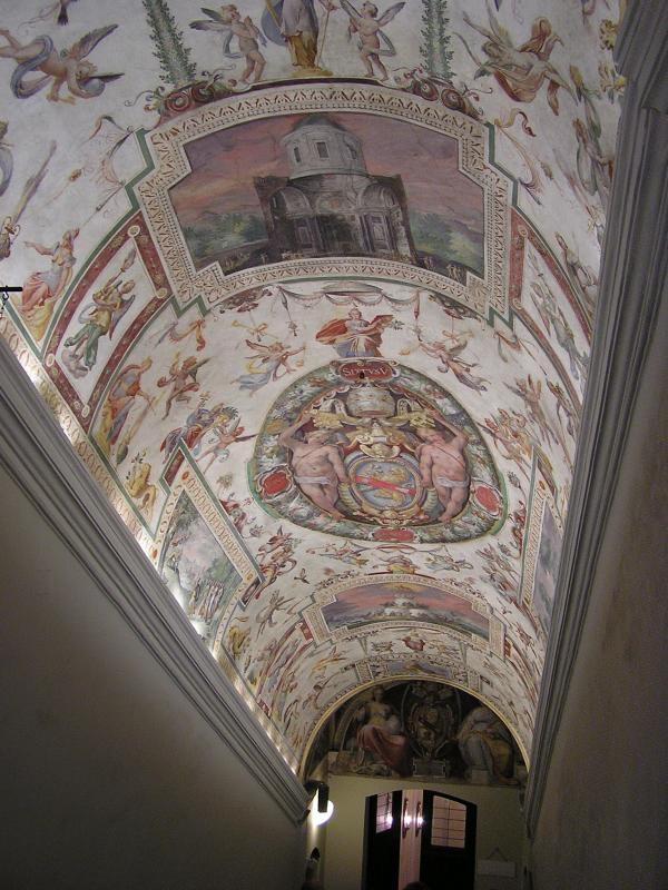 Hallway before the Sistine Chapel
