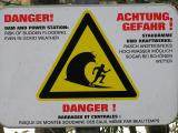 Funny signs on a serious subject