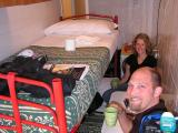 This is how we travel for so long...small rooms!