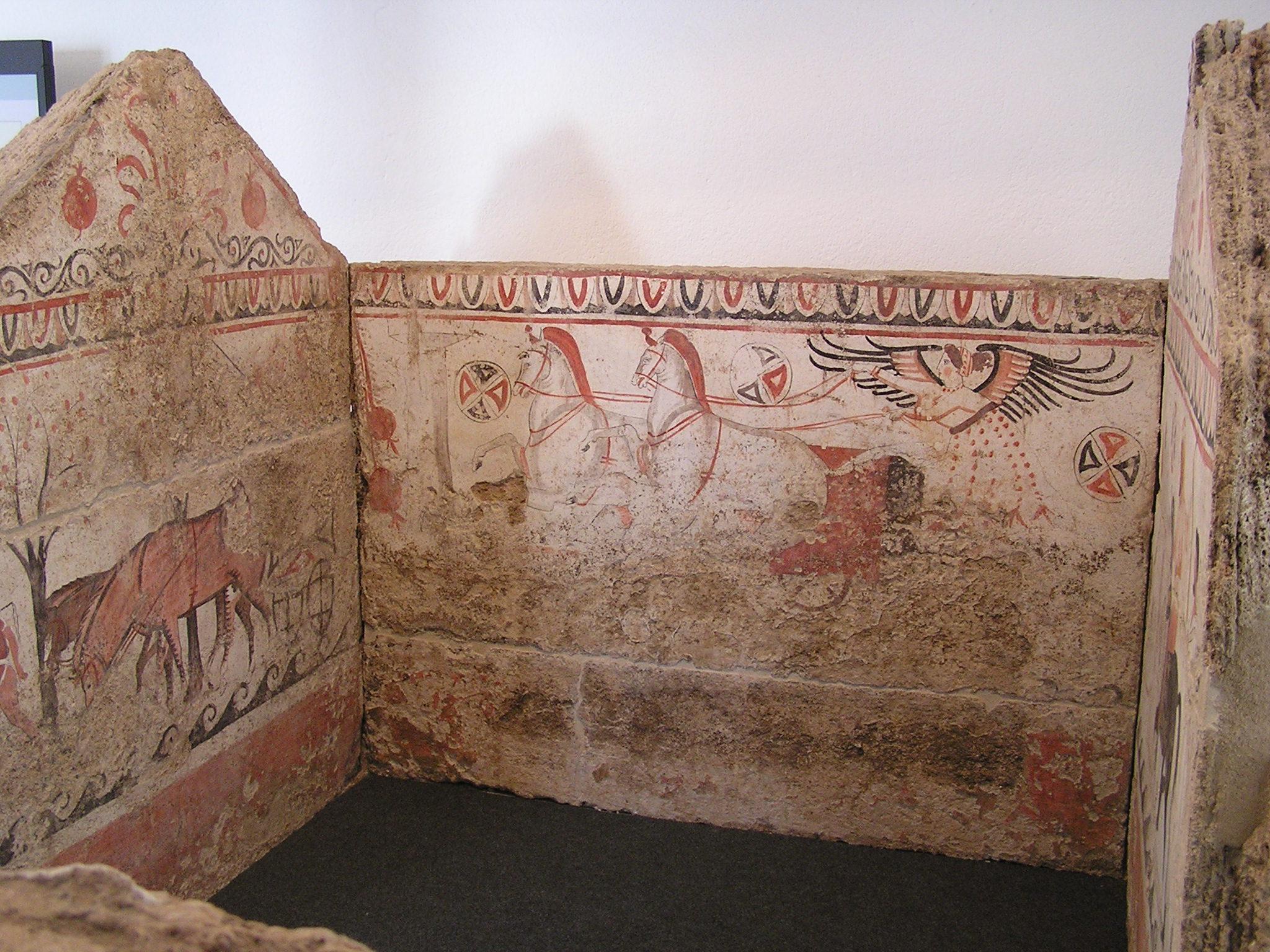 They had big tombs, no?