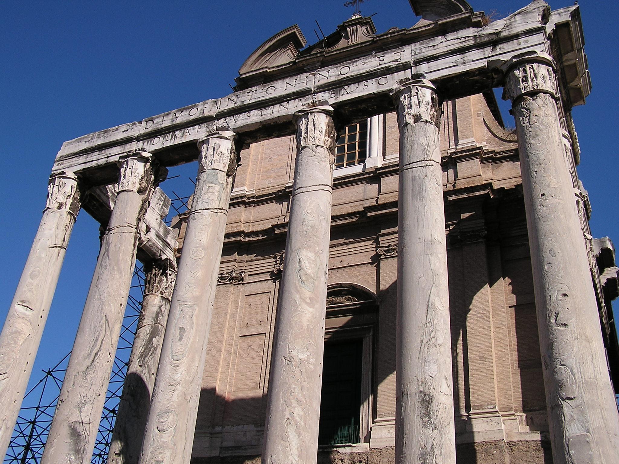 Temple of Divus Antoninus and Diva Faustina