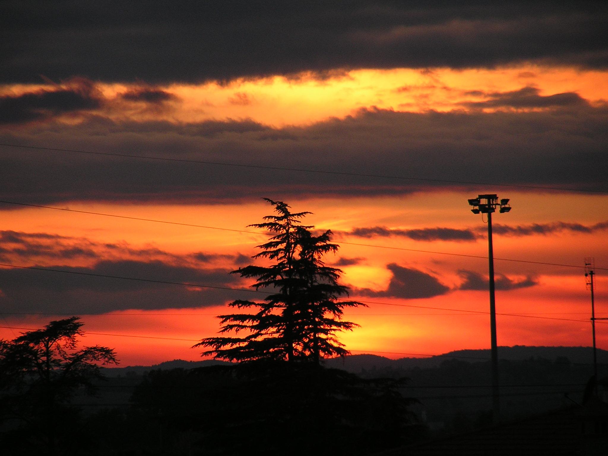 Sunset Camucia-Cortona