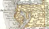 1911 Railroad Map Hillsborough Co FL