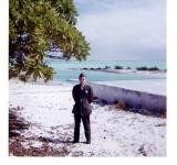 Dave  at Wake Island