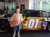 Grandson's first stock car race