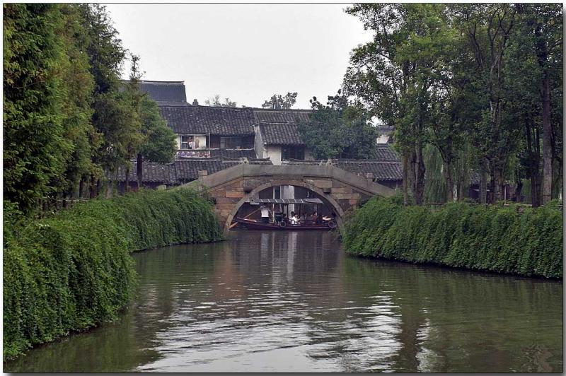 Wu Zhen - Typical stone bridge
