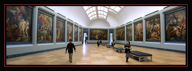 Le Louvre - Salle Rubens
