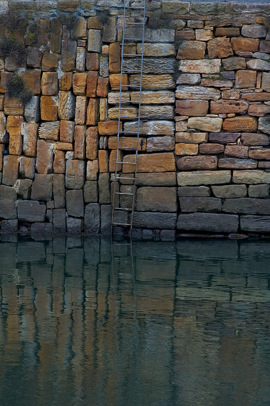 Crail Harbour Wall.