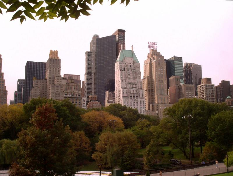 Central Park South Skyline in the Fall
