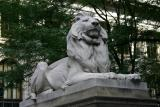 Right Hand Lion on Fifth Avenue