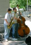Jazz Duo in Washington Sq Park