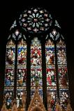 Grace Church - Stained Glass Window Above the Main Altar