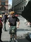 Peter Reich of Swift Folder in his brand new helmet!