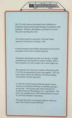 Rail line history