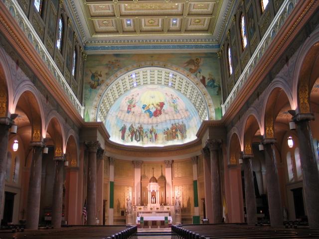 St.Gerards RC Church, Bailey and E.Delevan, Buffalo, NY