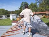 Painting a Trailer Roof