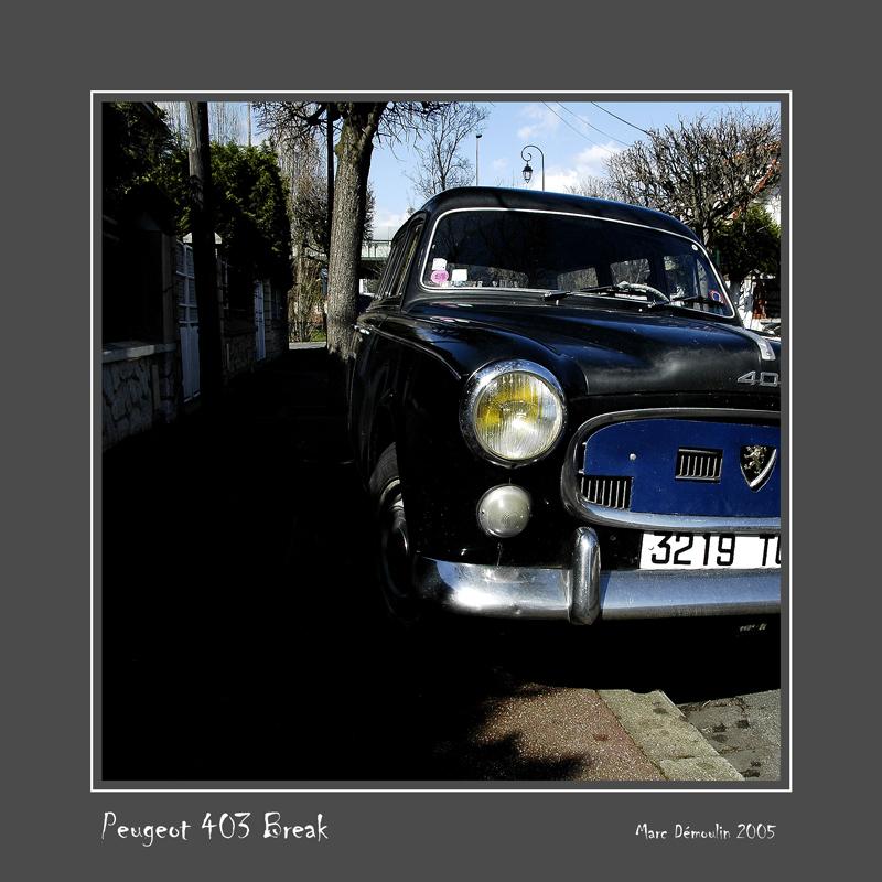 PEUGEOT 403 Break Joinville - France
