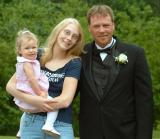 Brandy, her dad and my daughter