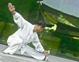 Practicing Tai Chi, Xi'an
