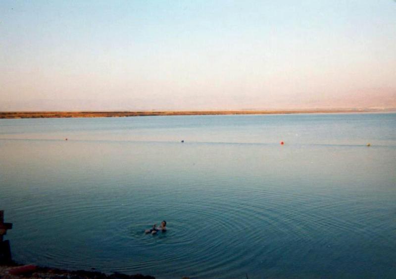 Dead Sea Swimming