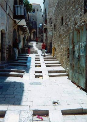 Walk to The Church of the Holy Sepulchre