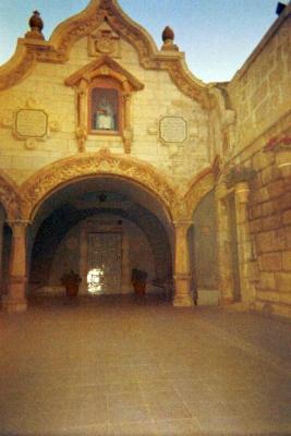 Basilica Courtyard