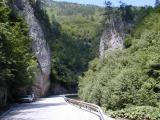 The road to Trigrad (Satan's Throat Cave)