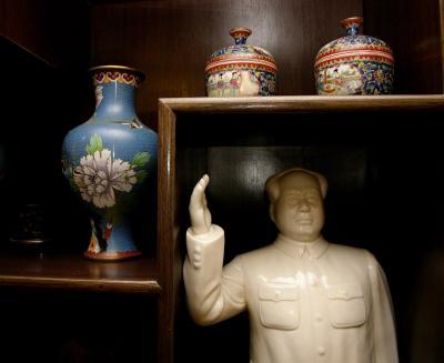 Mao and stuff, Beijing, China, 2004