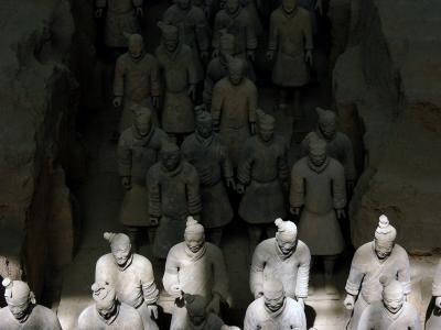 Awakening, Tomb of Emperor Qin, Xian, China, 2004