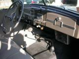 Dash & rubber floor mat are original.   See Gallery notes on 1938 heater.