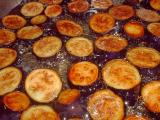 eggplant frying in hot oil for lake palace eggplant