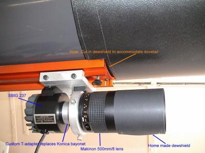 Mirror Lens Guidescope