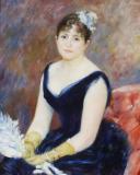 Renoir, Lady with a Fan