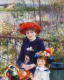 Renoir, Mother and Daughter