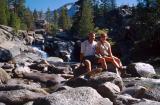 Carol and Steve by Woods Creek
