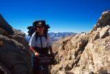 At the top of Forester Pass (13200')