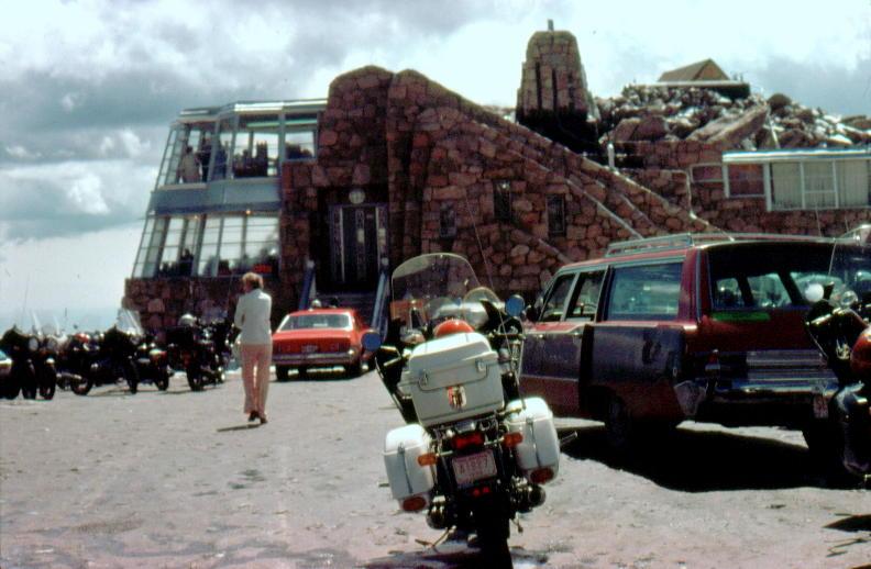 Mt Evans Crest House 1977