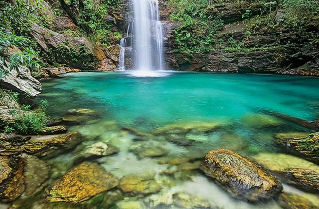 Cachoeira de Santa Bárbara3, Cavalcante-GO