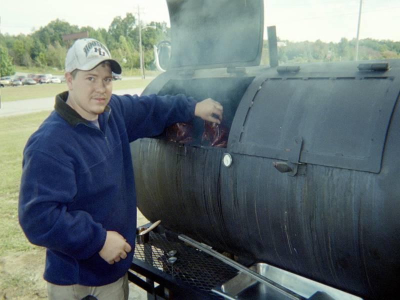 Jason Ayers smokin