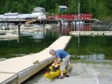 port hardy kayak- telegraph cove