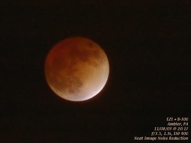11/08/03 Lunar Eclipse