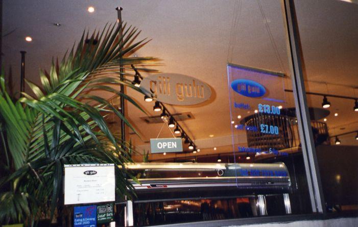 Gili Gulu: Sushi Bar