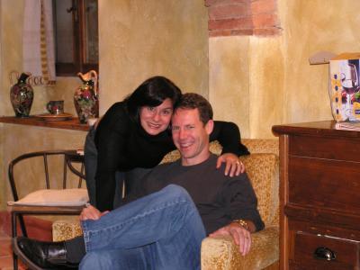 Julie & Brent Baker, newlyweds from home on honeymoon