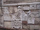 Medieval wall art