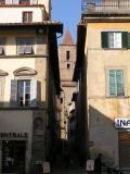 Narrow streets of Arezzo