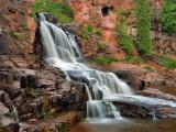 Waterfall at Gooseberry Falls State Park