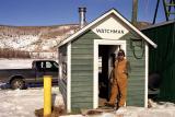 Ice Classic watchman on duty